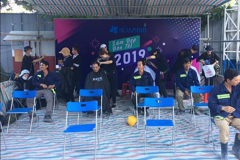 """Gần 700 công nhân tham gia chương trình """"Làm đẹp đón Tết 2019"""""""